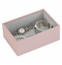 Stackers Boîte à Bijoux Soft Pink Mini 1 section