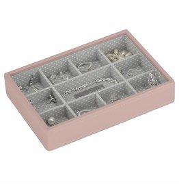 Stackers Boîte à Bijoux Soft Pink Mini 11 sect.