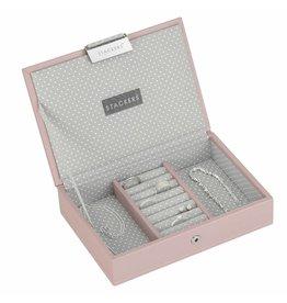Stackers Boîte à Bijoux Soft Pink Mini Couvercle