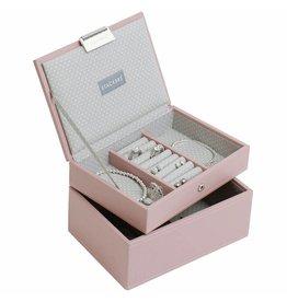 Stackers Boîte à Bijoux Soft Pink Mini Ensemble
