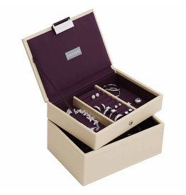 Stackers Boîte à Bijoux Cream Mini Ensemble