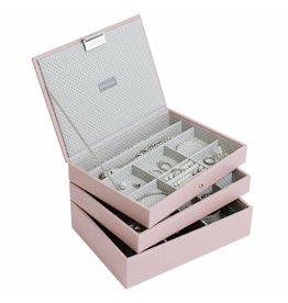 Stackers Boîte à Bijoux Soft Pink Classic Ensemble