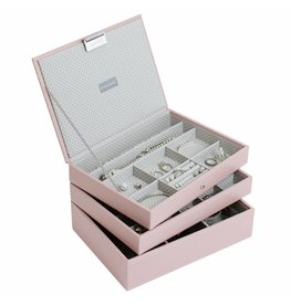 Stackers Schmuckkasten Soft Pink Classic Set