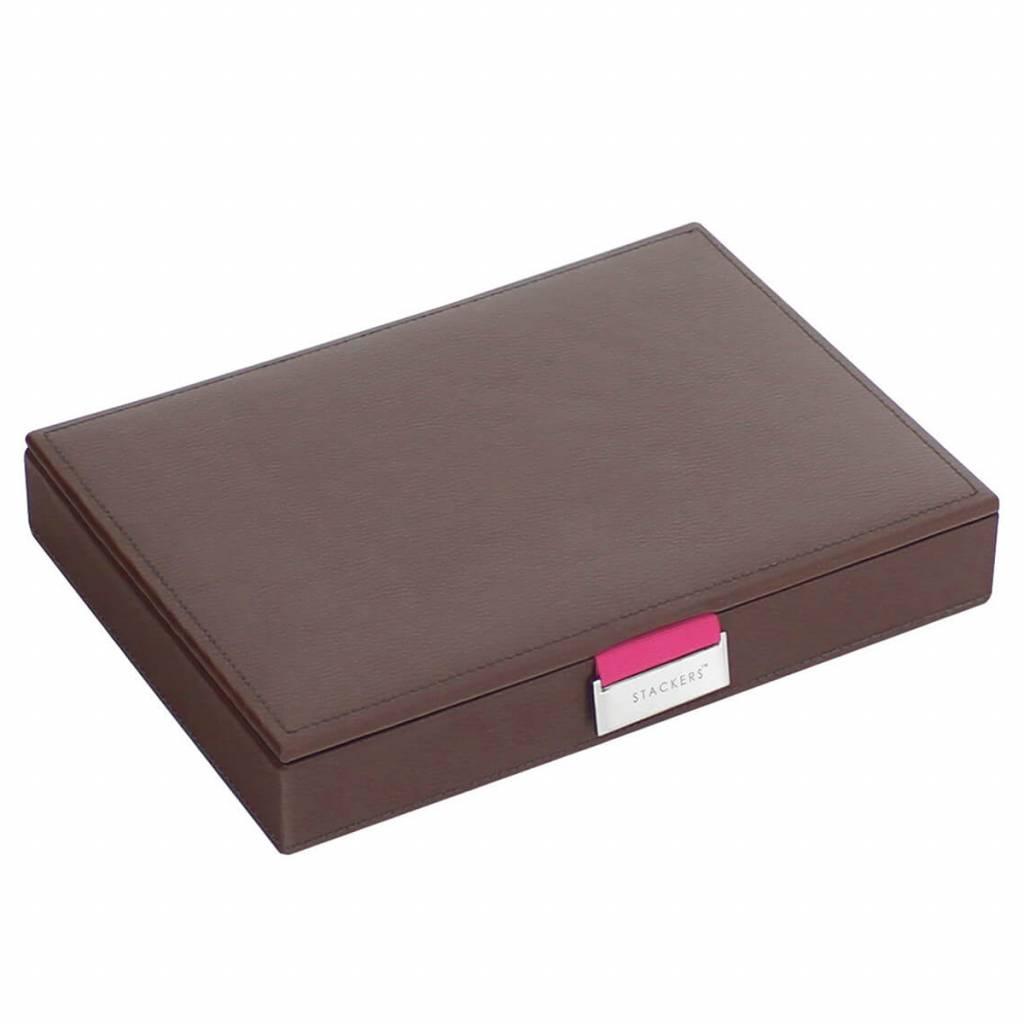 Sieradendoos Chocolate Brown Classic top