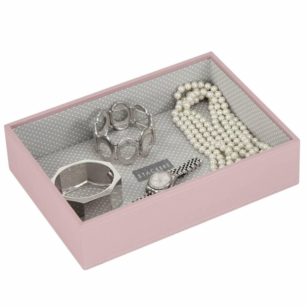 Boîte à Bijoux Soft Pink Classic 1 section