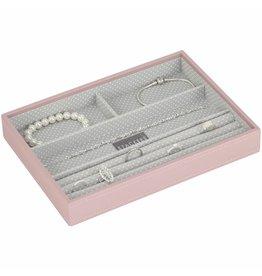 Stackers Sieradendoos Soft Pink Classic 4-vaks