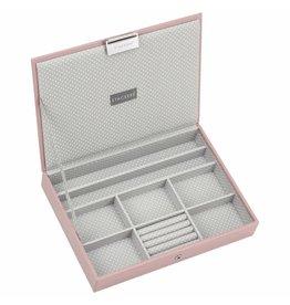Stackers Boîte à Bijoux Soft Pink Classic Couvercle