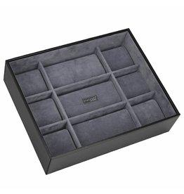 Stackers Black XL Boîte de Montre 15 pcs Ouvert
