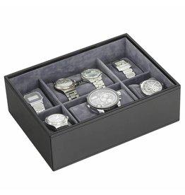 Stackers Black Large Uhrenbox 8 Stck Öffnen