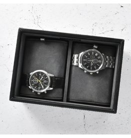 Stackers Black Mini Uhrenbox 2 Stck Öffnen