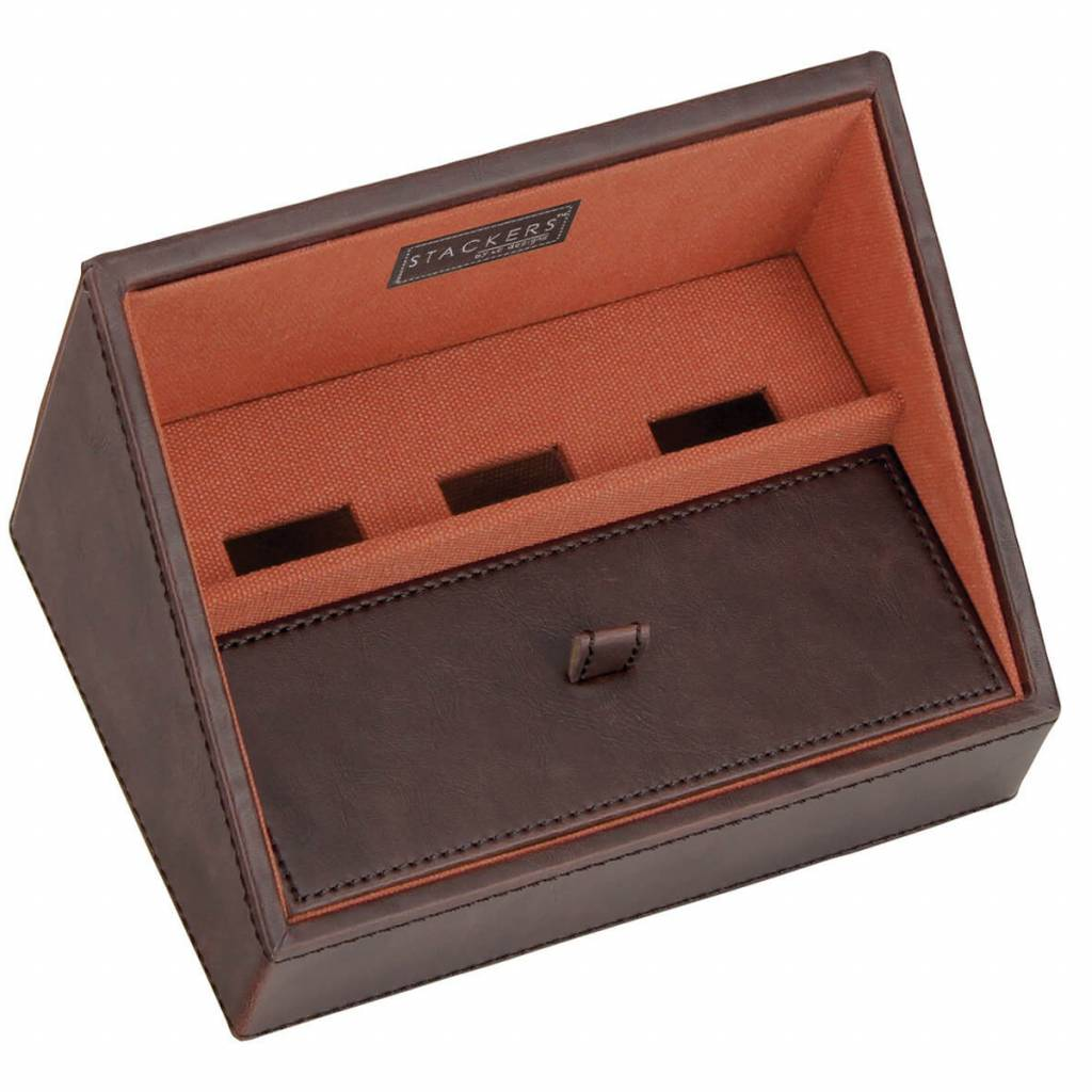 Vintage Brown Mini Telefonhalter