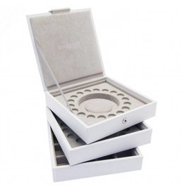 Stackers Charm Box White Set
