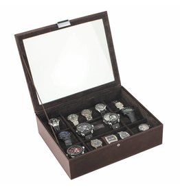 Stackers Chocolate Brown XL top horlogedoos 15 pcs