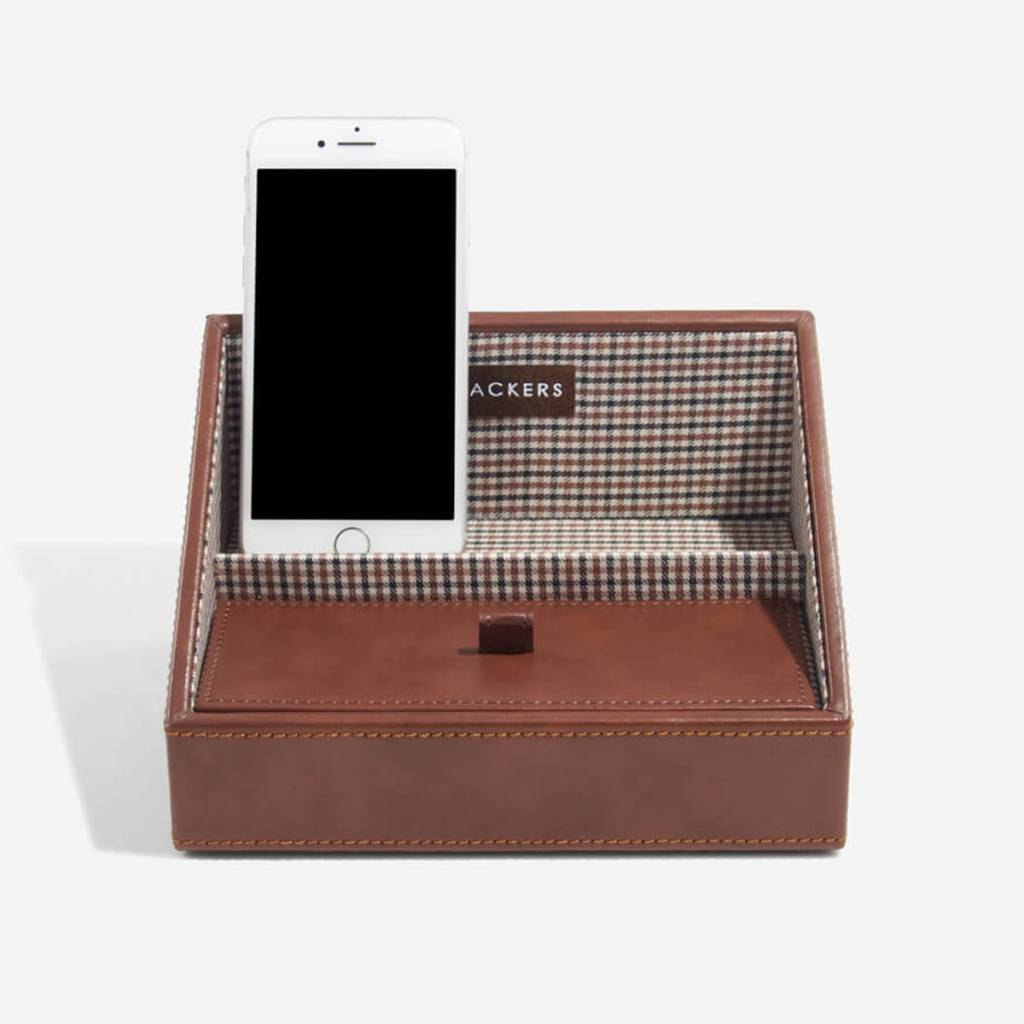 Tan Mini telefonhalter