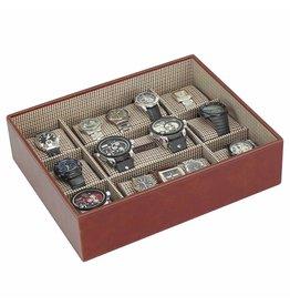 Stackers Tan XL Uhrenbox 15 Stck Öffnen
