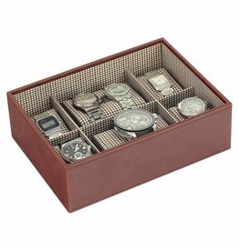 Stackers Tan Large Uhrenbox 8 Stck Öffnen