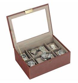 Stackers Tan Large Uhrenbox 8 Stck Deckel