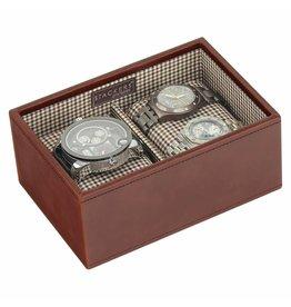 Stackers Tan Mini Uhrenbox 2 Stck Öffnen