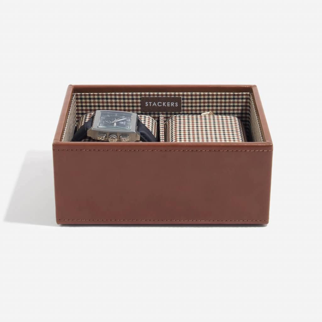 Tan Mini Uhrenbox 2 Stck Öffnen