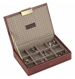 Stackers Tan Mini Manschettenknöpfe Box
