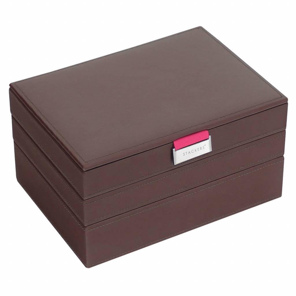 Schmuckkasten Chocolate Brown Classic Set