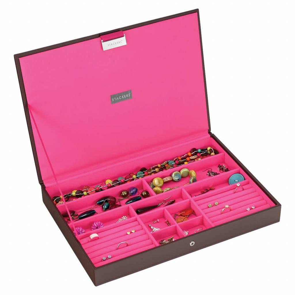 Schmuckkasten Chocolate Brown Supersize Set