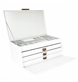 Dulwich Design Coffret à Bijoux Grande Blanc