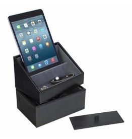 Stackers Black Mini set telefoonhouder & horlogedoos