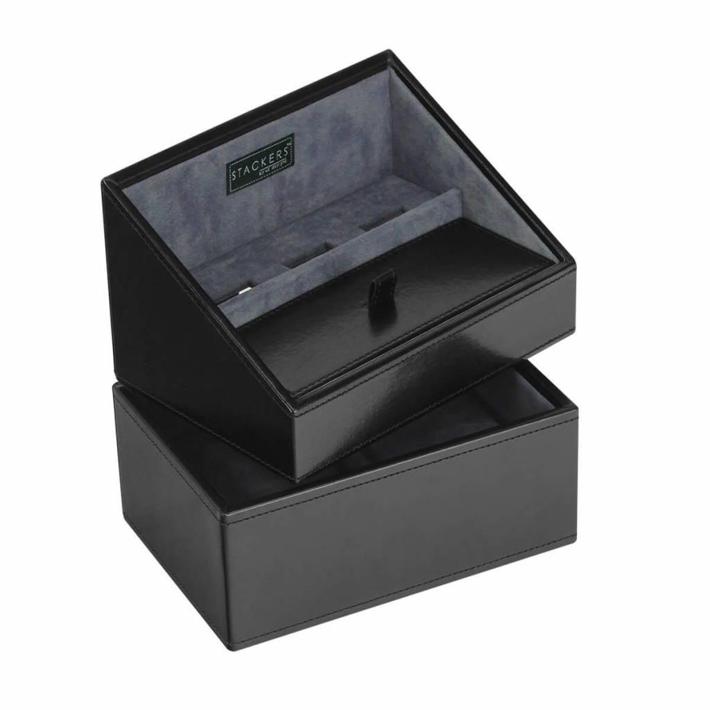 Black Mini set telefoonhouder & horlogedoos