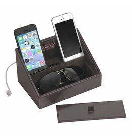 Stackers Chocolate Brown Mini Telefonhalter