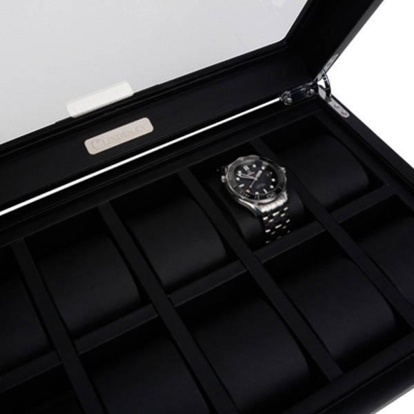 Horlogekist met RVS 10 pcs
