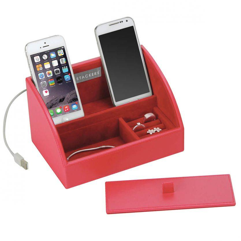 Sieradendoos Red Mini Smartphone set