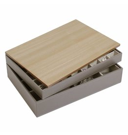 Stackers Schmuckkasten Mink Supersize Set - Holz