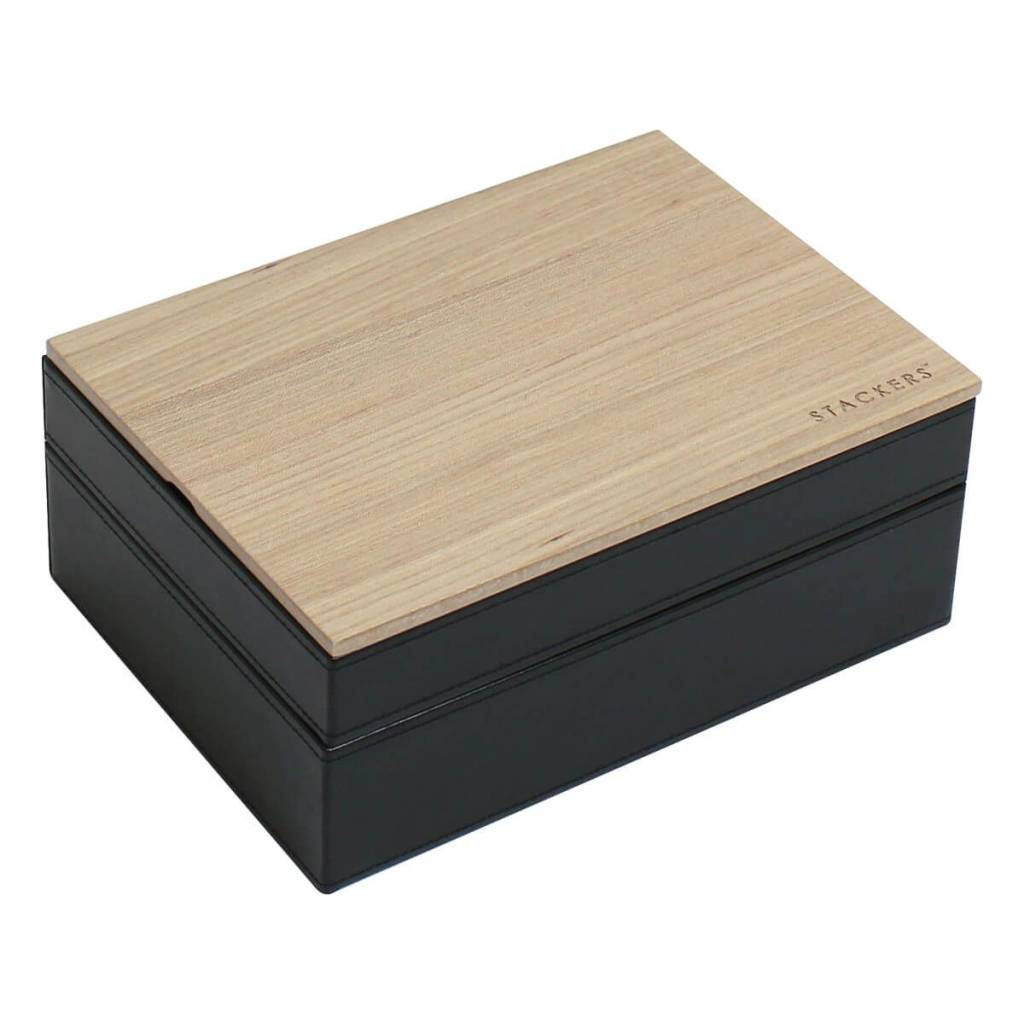 Schmuckkasten Black Classic Set Holz