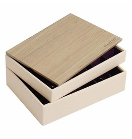Stackers Sieradendoos Cream Classic set Wood