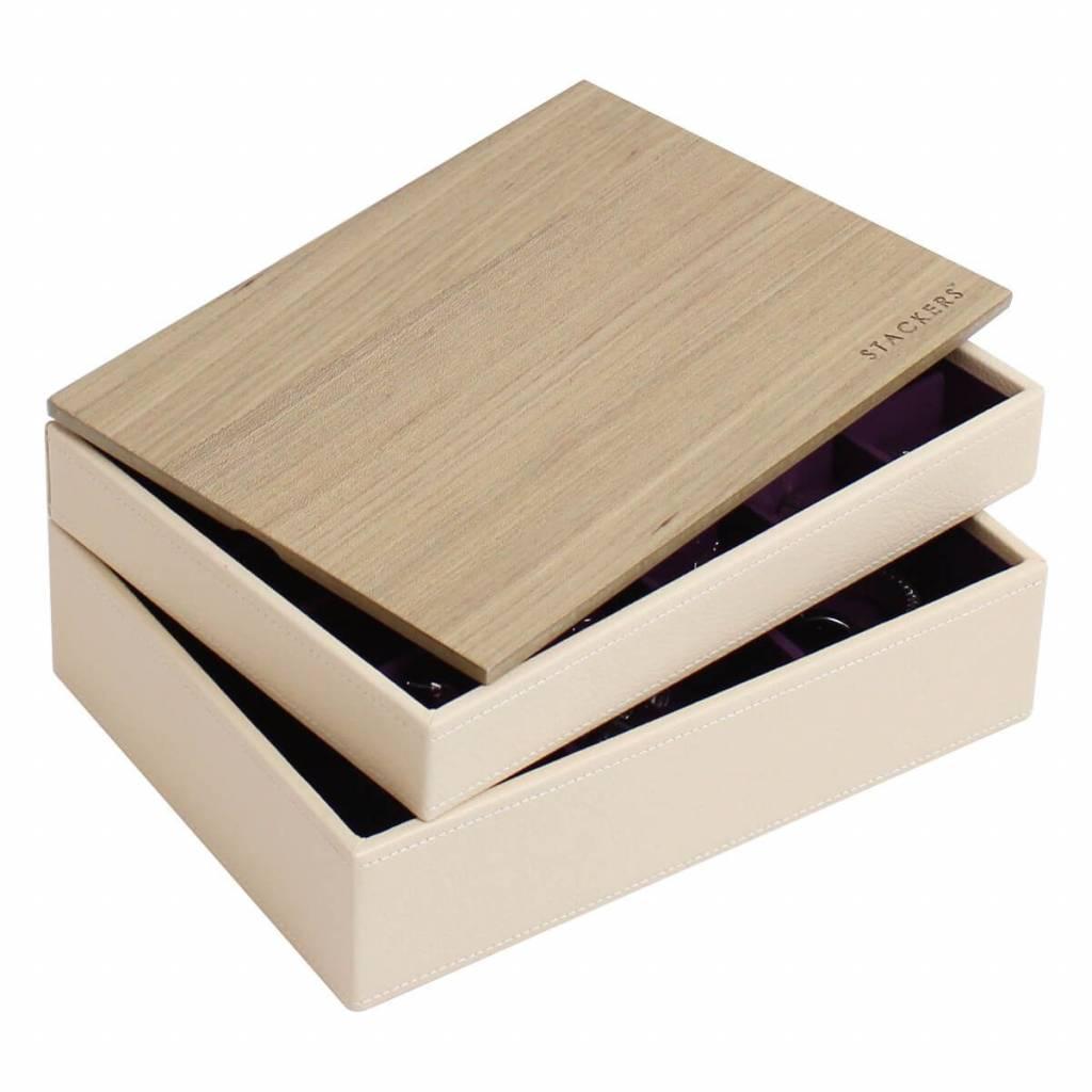 Sieradendoos Cream Classic set Wood
