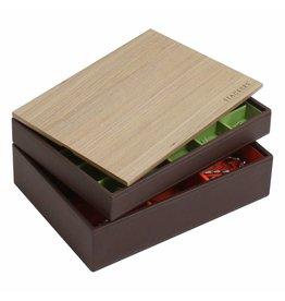 Stackers Schmuckkästchen Schokobraun Classic Set Holz