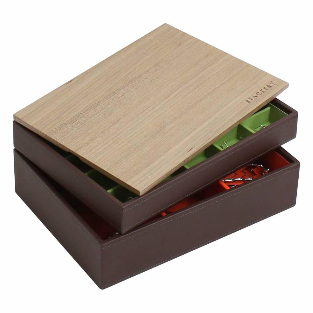 Schmuckkästchen Schokobraun Classic Set Holz