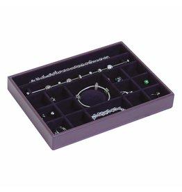Stackers Sieradendoos Purple Classic Charm