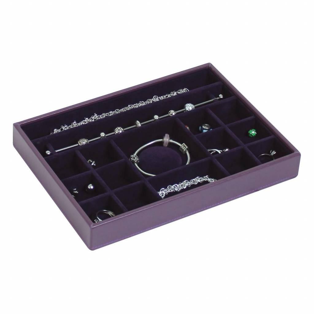 Sieradendoos Purple Classic Charm