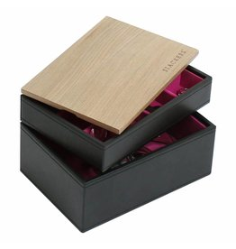 Stackers Schmuckkasten Black Mini Set Holz