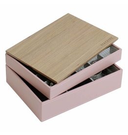 Stackers Sieradendoos Soft Pink Classic set Wood