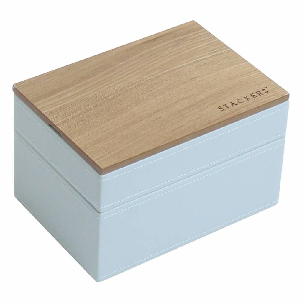 Sieradendoos Duck Egg Mini set Wood