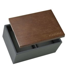 Stackers Mini Charcoal Uhrenbox