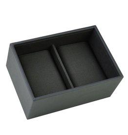 Stackers Mini Charcoal Boîte de Montre Ouvert