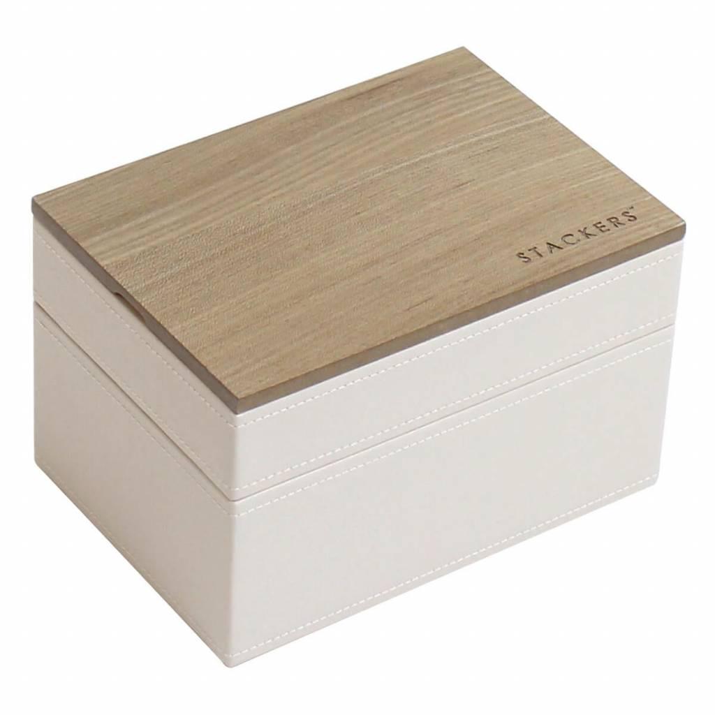 Sieradendoos Vanilla Mini set wood