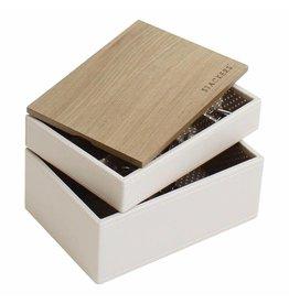 Stackers Boîte à Bijoux Vanilla Mini Ensemble Bois