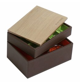 Stackers Schmuckkasten Chocolate Brown Mini Set Holz