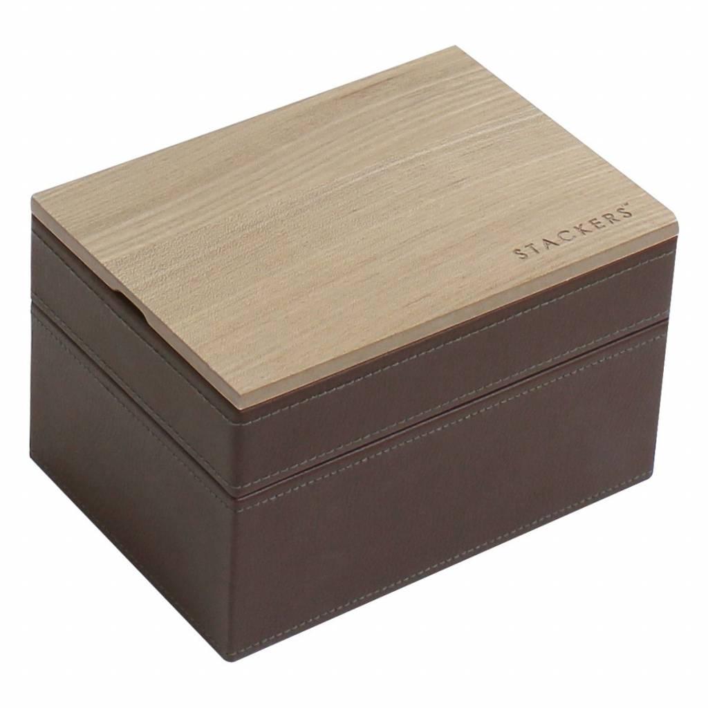 Sieradendoos Chocolate Brown Mini set Wood