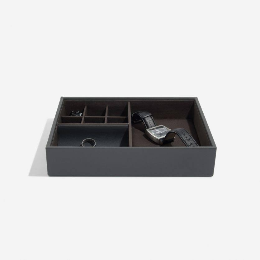 Classic Charcoal opbergbox met deksel